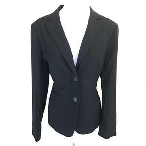 Jones New York two-button blazer black - size 12